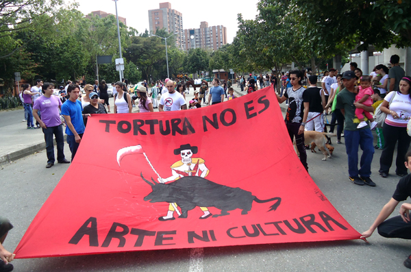 Animal rights in Colombia