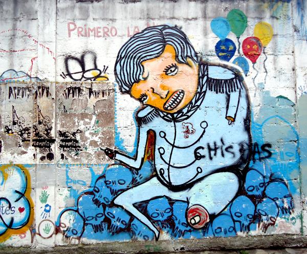 Street Art in Baños Part 1