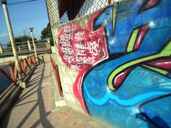 Street Art in Montañita-Part 1
