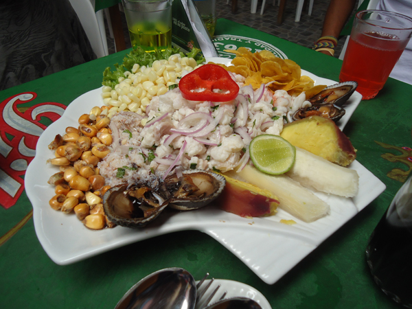 Classic Peruvian Ceviche