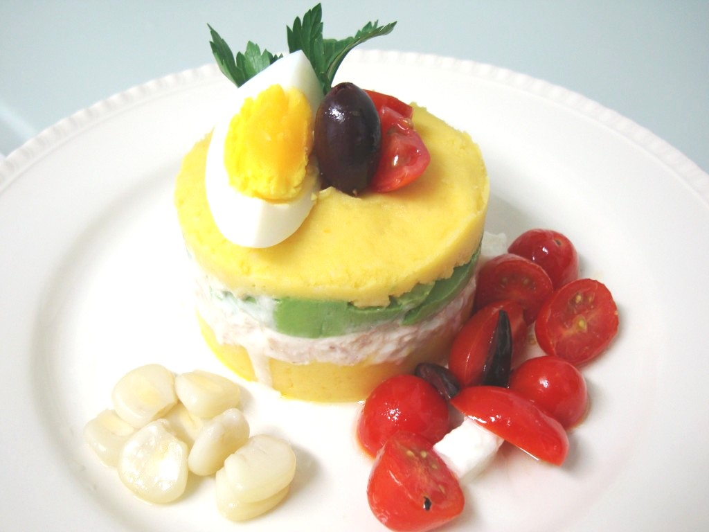 traditional dishes of raising miro on the road of life causa