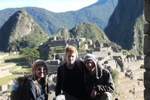 to Macchu Picchu