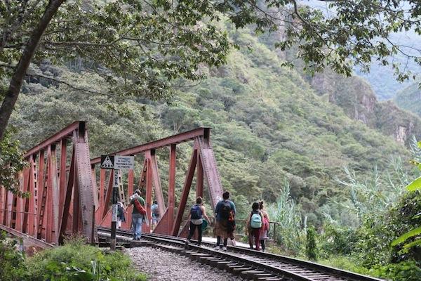 To Machu Picchu
