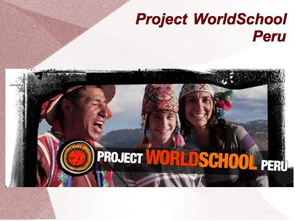 Global Education Conference Presentation – Project World School [VIDEO]