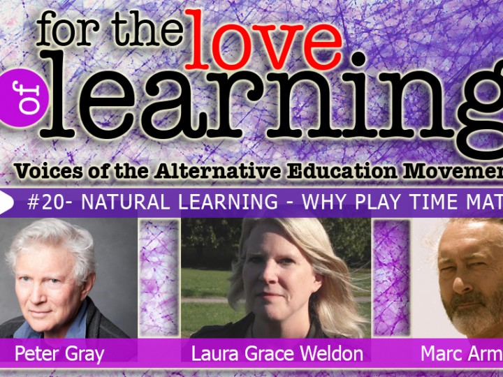 For the Love of Learning – Natural Learning- Why Play Matters – Epi#20