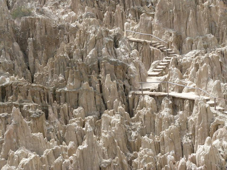 Bolivia's Surreal Valley of the Moon, a Geographical Wonder