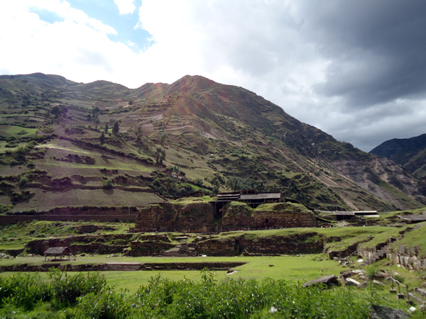 Chavin de Huantar in Peru