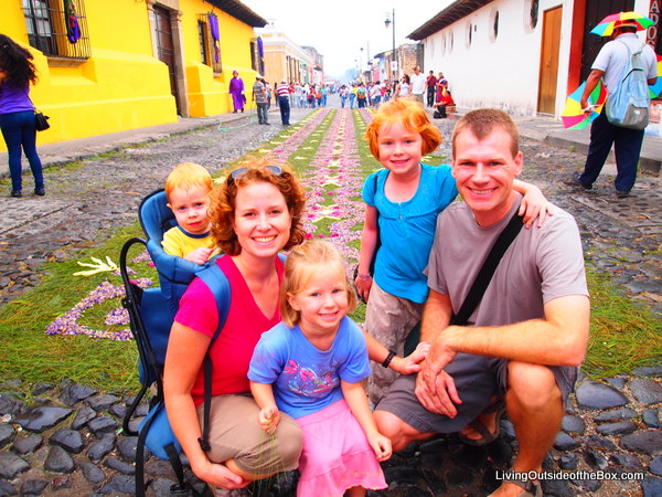 Families on the Move – Meet the Family Behind Livingoutsideofthebox.com