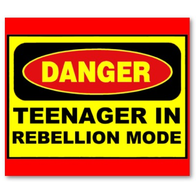 teenage rebellion How to handle teenager rebellion rebelling is a part of becoming a teenager every teen does it but it's important to know how to handle it so it only lasts as long as any other stage recognize rebelliousness teenage rebellion includes.