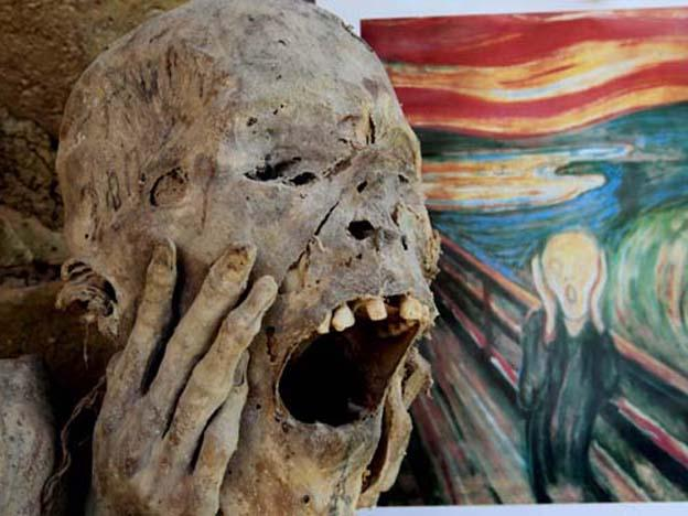 Edvard Munch's The Scream' was Inspired by a Peruvian Mummy