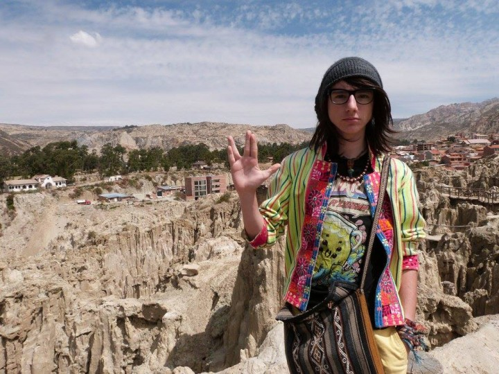 Visiting the Valley of the Moon near La Paz, Bolivia